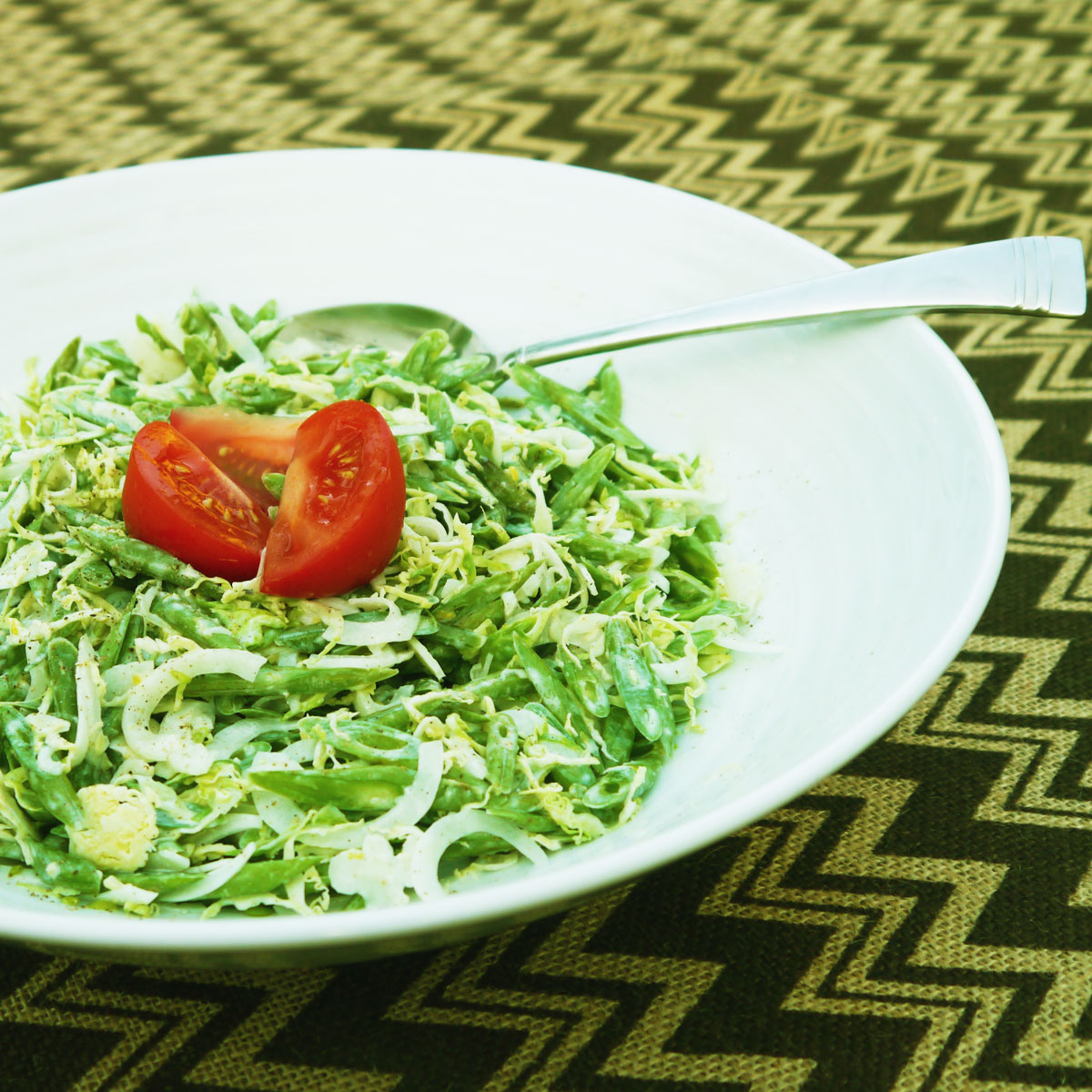 Frenched Green Bean & Brussels Sprout Coleslaw - Cook ...