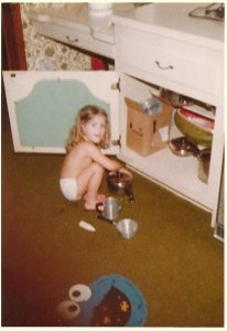 I started cooking as a child helping my mom and have never stopped.