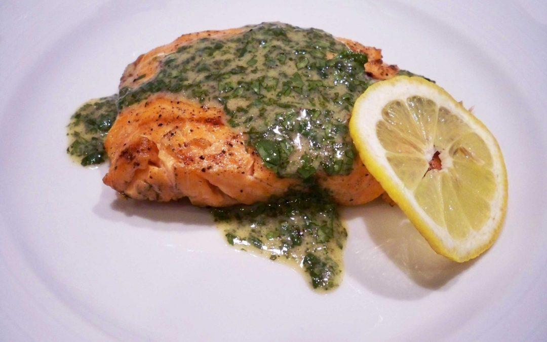 Cilantro Dijon Salmon