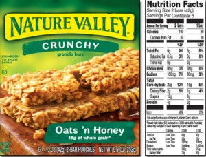 190 Calories, 6 grams of fat, 4 grams of protein and 2 grams of fiber....not so great.