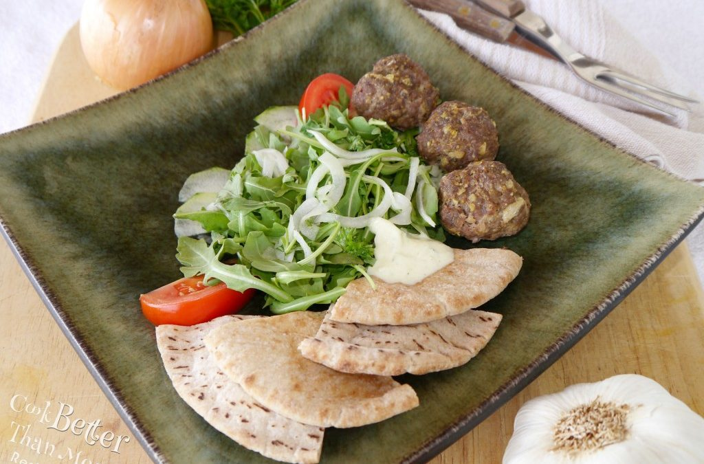 Easy Middle Eastern Meatballs