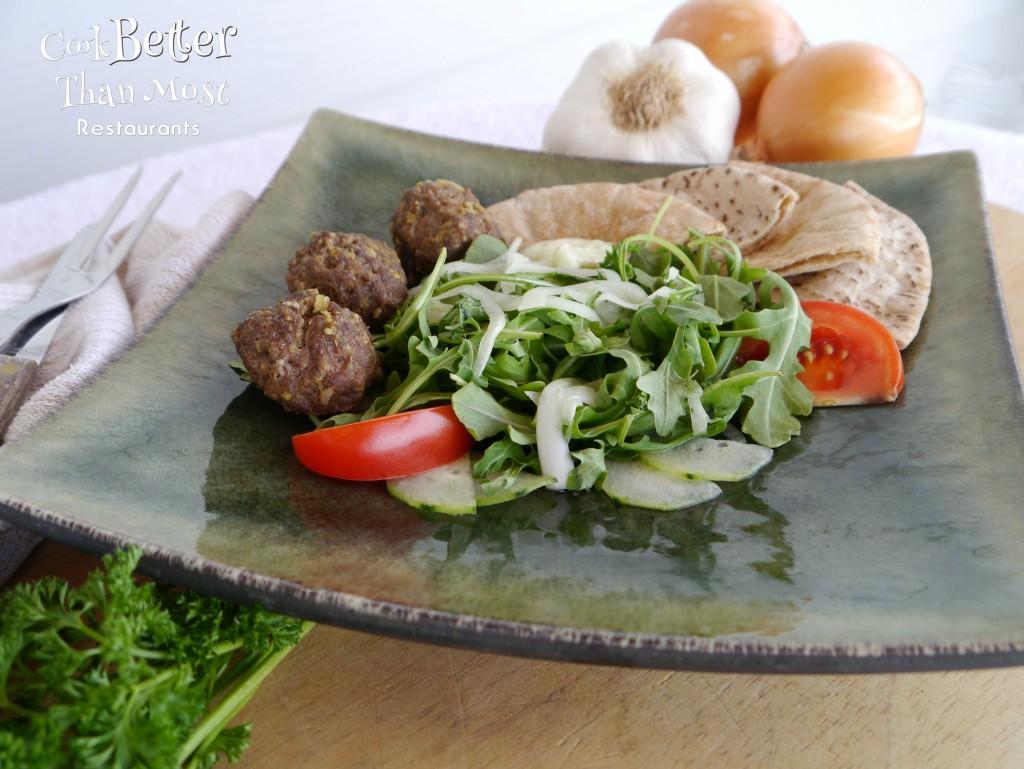 Easy Middle Eastern Meatballs beef