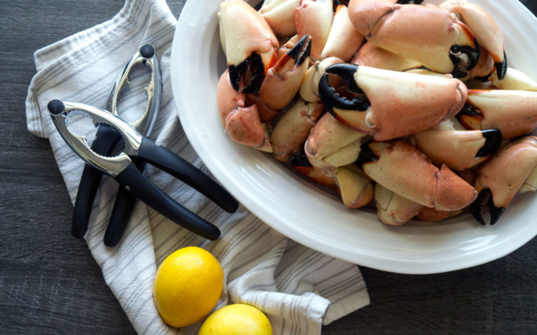 How to Eat Stone Crab Claws