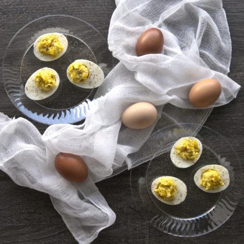 My mom's deviled egg recipe