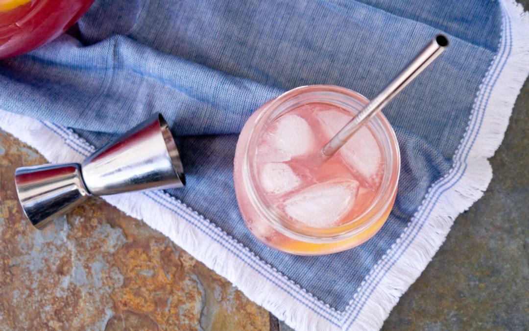Cranberry Lemonade Vodka Quarantini