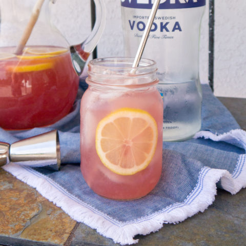 Vodka-lemon-cocktail